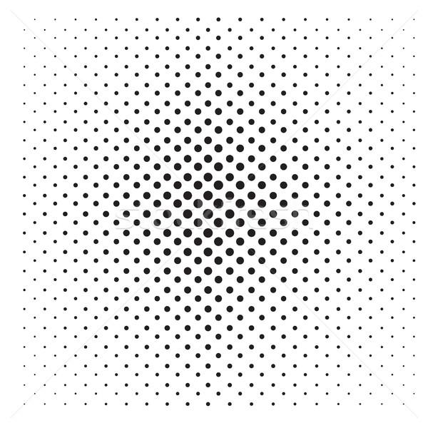 Abstract pop art punteggiata pattern griglia illustrazione Foto d'archivio © Supertrooper