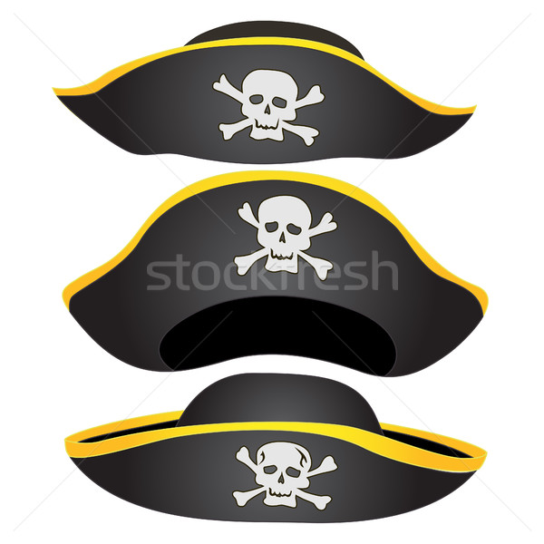 Pirate Hat Isolated Stock photo © Supertrooper