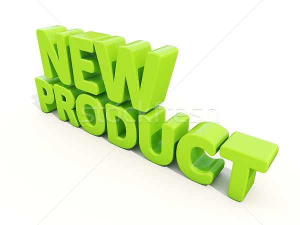 3d New Product Stock photo © Supertrooper
