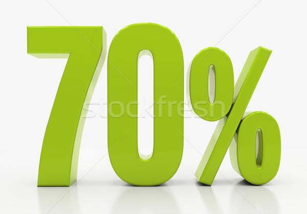 3D percent Stock photo © Supertrooper