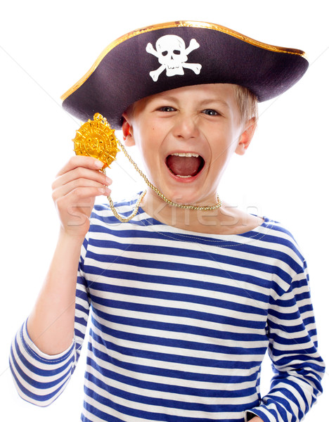 Pirate shouting Stock photo © Supertrooper