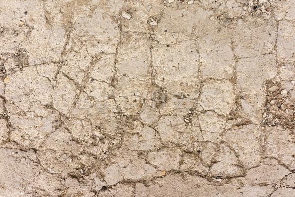 Foto stock: Rachado · cimento · grunge · concreto · parede