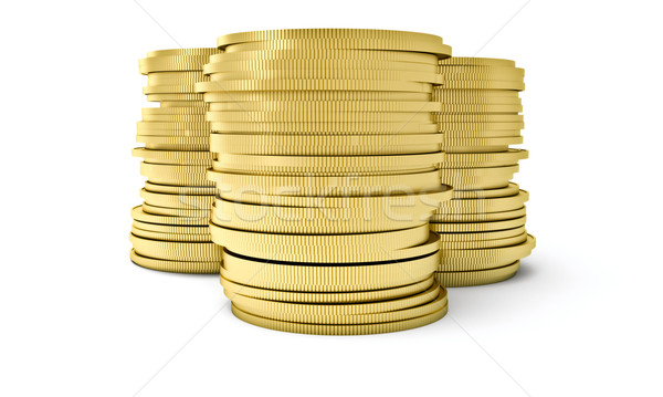 A stack of coins Stock photo © Supertrooper