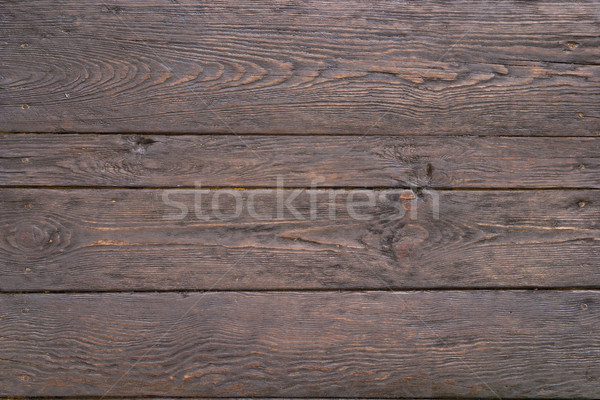 Old dark noble wood Stock photo © Supertrooper