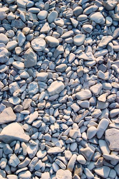 Beach pebbles Stock photo © Supertrooper