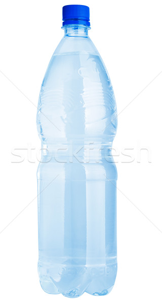 Plastic water bottle isolated Stock photo © Supertrooper