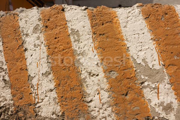 Perigo textura concreto cautela assinar Foto stock © Supertrooper