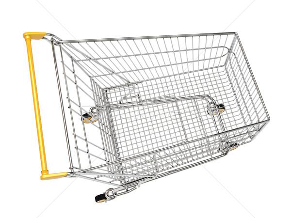 Shopping carts isolated Stock photo © Supertrooper