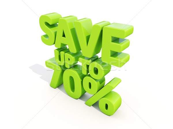 Save up to 70% Stock photo © Supertrooper