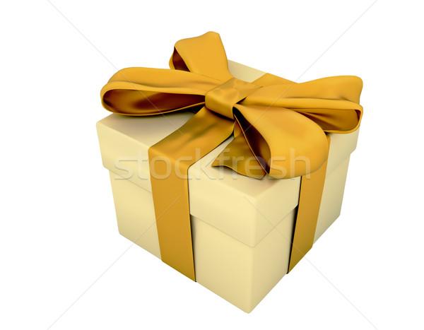 Gift box isolated Stock photo © Supertrooper