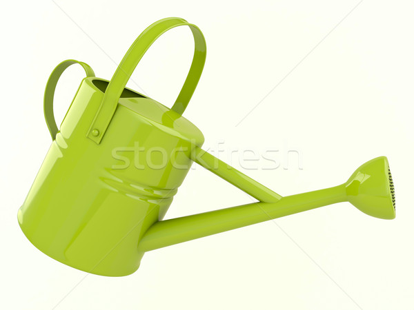 Green watering can Stock photo © Supertrooper