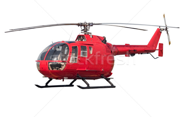 Helicopter isolated Stock photo © Supertrooper