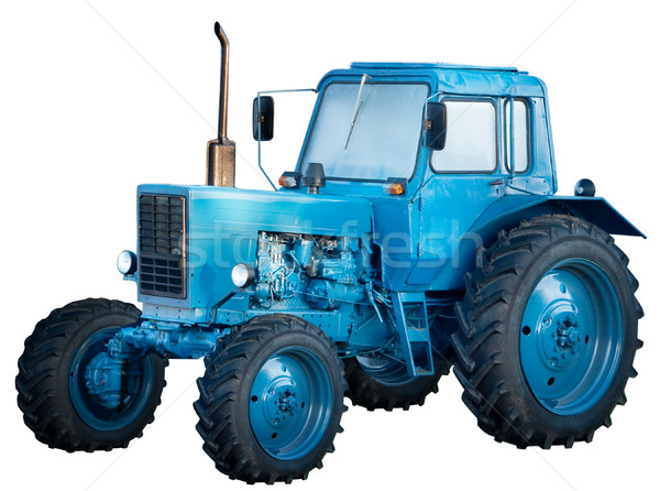 Tractor isolated Stock photo © Supertrooper