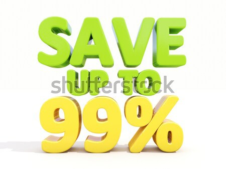 Save up to 60% Stock photo © Supertrooper