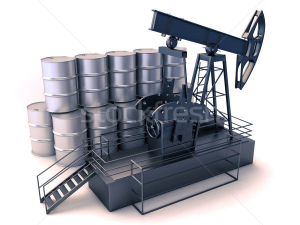 Oil production Stock photo © Supertrooper