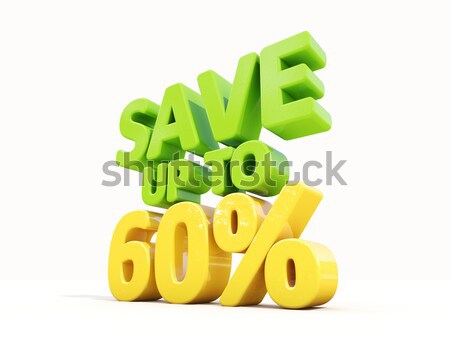 Stock photo: Save up to 20%