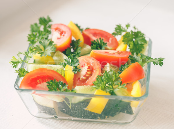 Fresh vegetables Stock photo © Supertrooper