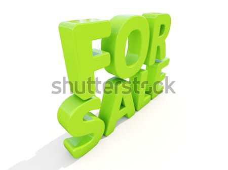 Stockfoto: 3D · woorden · gratis · icon · witte · 3d · illustration
