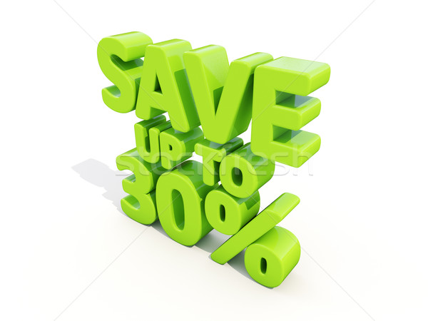 Save up to 30% Stock photo © Supertrooper