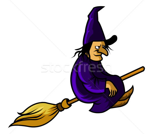 Flying Witch Stock photo © superzizie