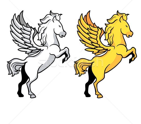 Pegasus Stock photo © superzizie