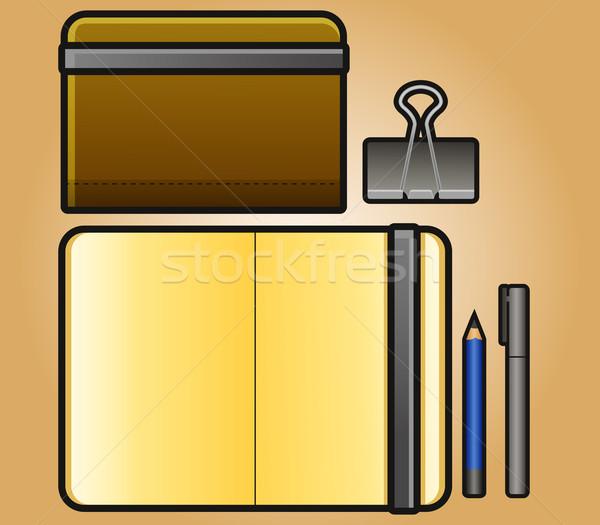 Stock photo: Portrait Sketchbook
