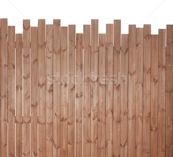Aislado madera pared textura blanco casa Foto stock © Suriyaphoto