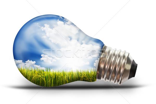 Сток-фото: риса · небе · технологий · науки · облаке