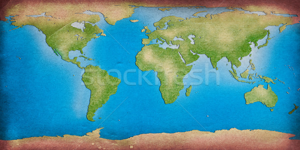 recycle world map for your background Stock photo © Suriyaphoto