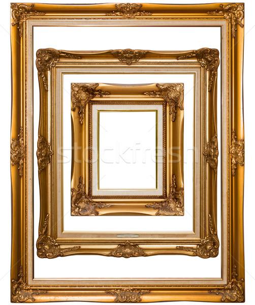 Aislado madera fondo metal Foto stock © Suriyaphoto