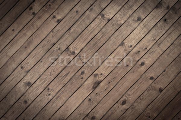 Oude houtstructuur boom muur ontwerp achtergrond Stockfoto © Suriyaphoto