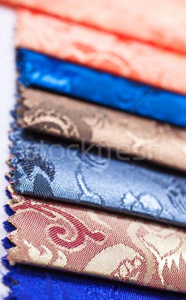 Kumaş renk paletine beyaz yaratıcı Stok fotoğraf © Suriyaphoto