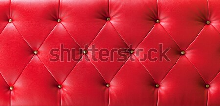 Rouge bouton cuir mode couleur wallpaper Photo stock © Suriyaphoto