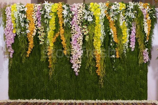цветы фон Свадебная церемония цветок весны Сток-фото © Suriyaphoto