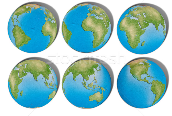 Reciclaţi hartă a lumii abstract fundal ocean web Imagine de stoc © Suriyaphoto