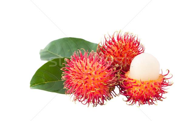 Odizolowany xxl rozmiar asian owoców biały Zdjęcia stock © Suriyaphoto