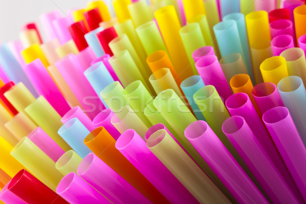 colorful of straw Stock photo © Suriyaphoto