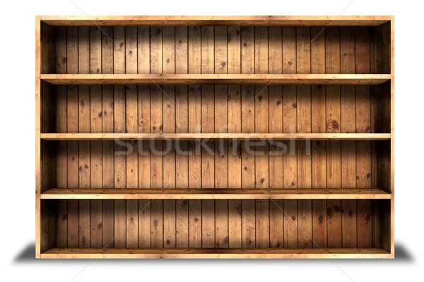 Velho textura de madeira árvore parede projeto fundo Foto stock © Suriyaphoto