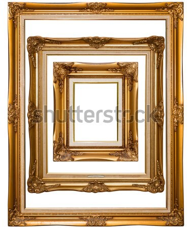 Isolated vintage photo frame Stock photo © Suriyaphoto