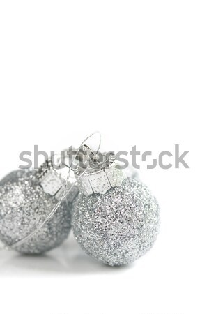 White Christmas ornaments  Stock photo © susabell