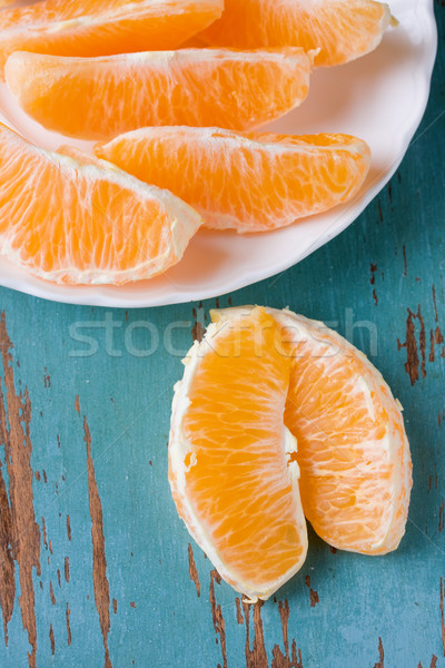 Orange slices Stock photo © susabell