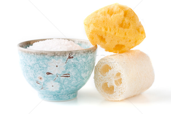 bath salts and sponges  Stock photo © susabell