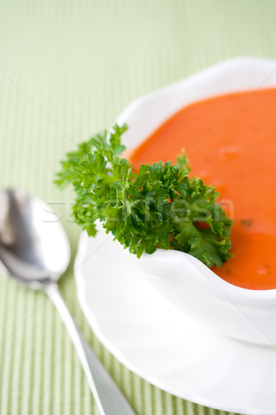 Tomato soup  Stock photo © susabell