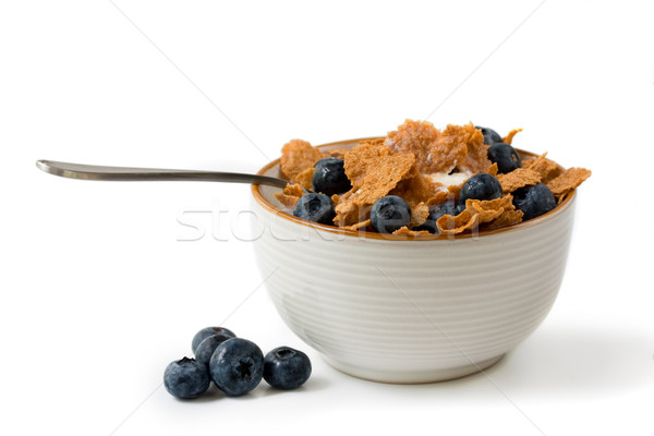 bowl of cereal  Stock photo © susabell