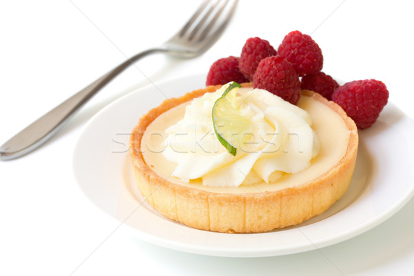 Key Lime Tart dessert  Stock photo © susabell