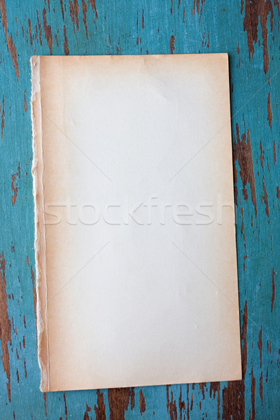 Blank Grungy paper background Stock photo © susabell