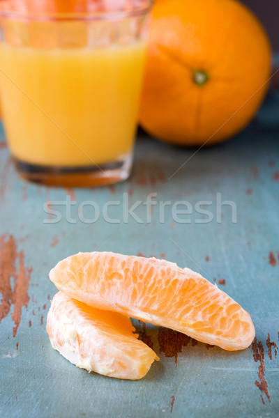 orange juice  Stock photo © susabell