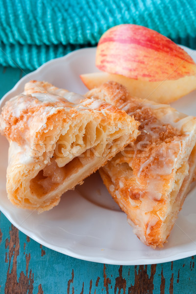 Stock photo: Turnover Apple Pastry