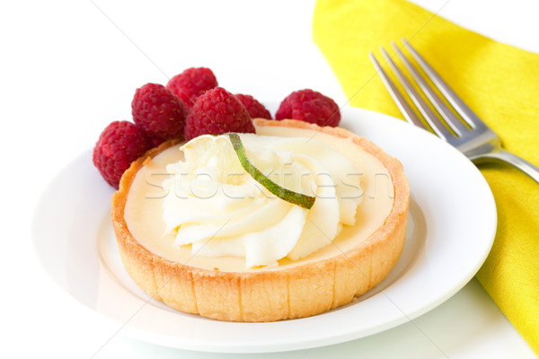 Key Lime Tart Stock photo © susabell