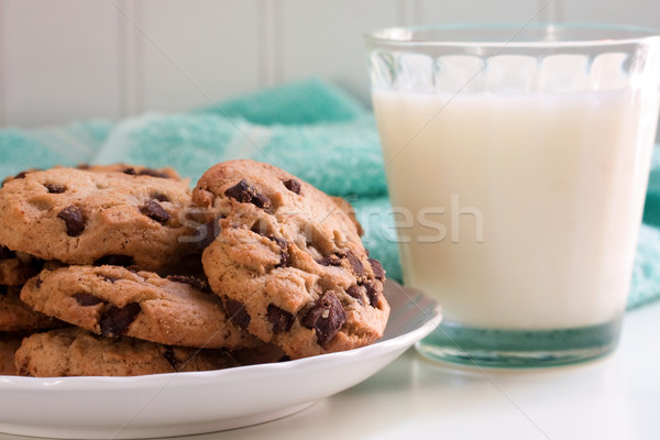 Cookies and milk Stock photo © susabell